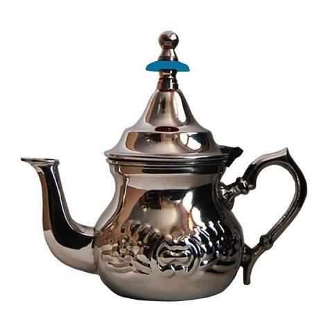 Tetera arabe de acero inoxidable 0,8 litros