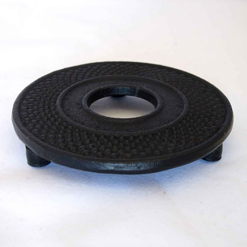 Posatetera de hierro negra 14 cm