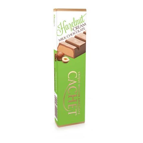 Chocolate con leche belga con crema de avellanas