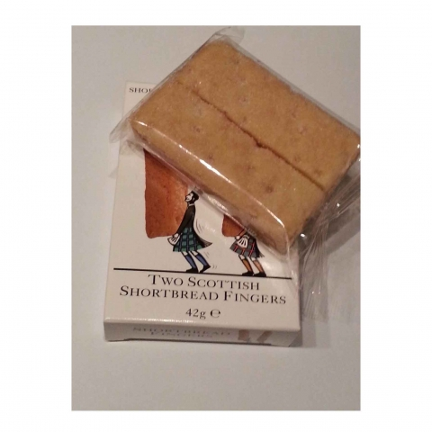 Two Scottish Shortbread Fingers