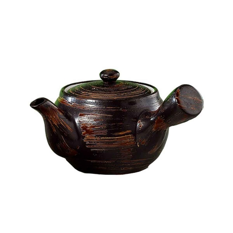 Tetera Ling de cerámica oscura