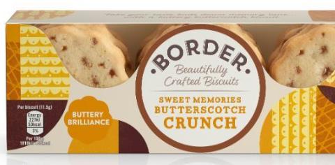Border Biscuit de mantequilla con caramelo toffee