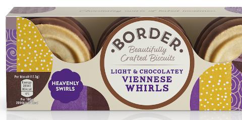 Galletas Border Biscuit con vainilla y chocolate