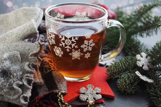 Ponché de té negro Ceylan