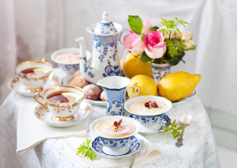 Ceremonia del té en británica