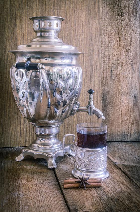 Ceremonia del té en Rusia